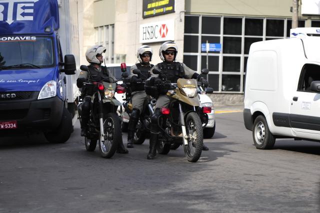 Pela primeira vez, o Estado pode ter mais policiais aposentados do que na ativa Ronald Mendes/Ag. RBS