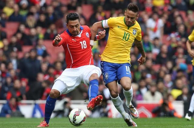 Brasil vence o Chile e mantém 100% de aproveitamento após a Copa CBF/Twitter/