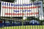 Escola do Bairro Anchieta, em Porto Alegre, está a espera de novos alunos (Mateus Bruxel/Agencia RBS)
