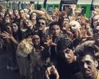 """Pegadinha de Silvio Santos inspirada em """"The Walking Dead"""" leva zumbis ao metrô The Walking Dead Brasil/Divulgação"""
