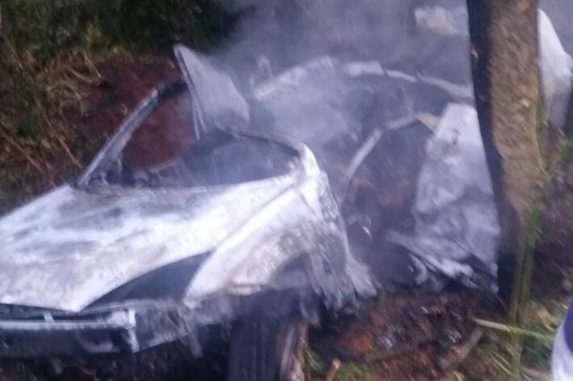 Acidente mata quatro jovens em Santa Rosa, no Noroeste Pietro Fuhr/Arquivo Pessoal
