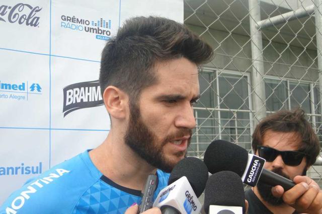 Marcelo Oliveira jogador do Grêmio http://www.cantinhojutavares.com