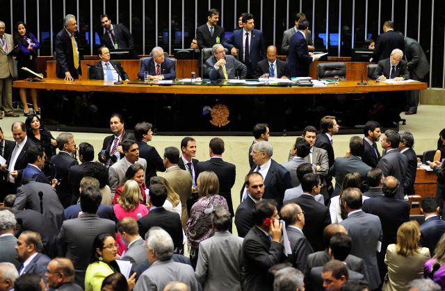 Câmara aprova texto-base do projeto da terceirização  Gustavo Lima / Câmara dos Deputados/
