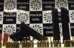 Suspeito de liderar o tráfico na Zona Norte de Porto Alegre é preso com armamento Divulgação/Polícia Civil
