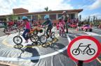 Escola Adelmo Simas Genro recebe atividades recreativas e de conscientização em Santa Maria Jean Pimentel/Agencia RBS