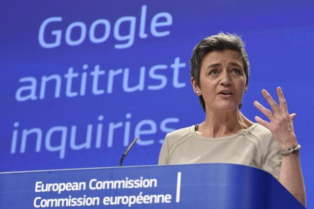 Por que brigam a União Europeia e o Google JOHN THYS/AFP
