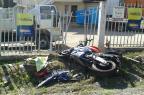 Motociclista fica ferido em acidente na BR-116, em São Marcos PRF/Divulgação/