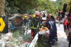Após acidente, trânsito está liberado na BR-116 em Picada Café, na Serra Gaúcha Bombeiros Voluntários de Nova Petrópolis/Divulgação/