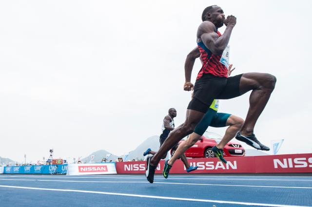 Usain Bolt vence o desafio Mano a Mano pela terceira vez Victor Eleuterio/Divulgação