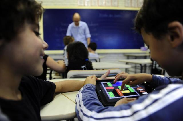 Para 92% dos professores, uso de tecnologia em sala de aula é positivo Mauro Vieira/Agencia RBS