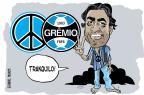 Senhor Gre-Nal: Lima pede tranquilidade ao Grêmio para vencer o clássico Gabriel Renner/Arte ZH
