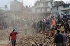 EUA, Índia e China anunciam ajuda a países atingidos por terremoto Prakash Mathema/AFP