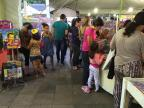 Literatura e arte divertem a criançada na Praça Saldanha Marinho Giulia Pozzobon/RBS