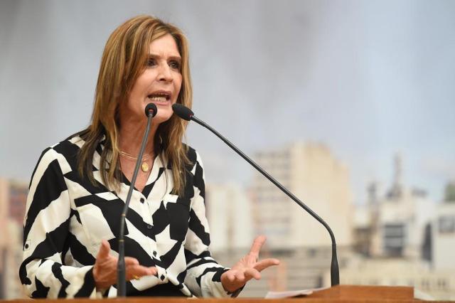 """Retirada de homenagens a militares é """"caça às bruxas"""", diz Mônica Leal Leonardo Contursi,Câmara Municipal/Divulgação"""