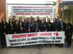 Agentes da Susepe doam sangue durante paralisação estadual Susepe/Divulgação