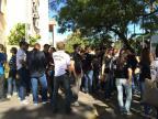 Protesto de servidores da Polícia Civil é encerrado no Estado Marina Pagno/Rádio Gaúcha