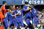 Chelsea é campeão da Inglaterra pela quinta vez IAN KINGTON/AFP