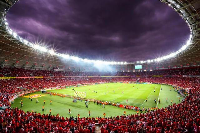 Cerca de 9 mil sócios fizeram o check-in para acompanhar Inter x Santos Omar Freitas/Agencia RBS