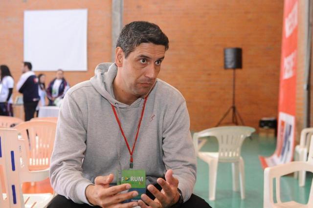 Marcelo Fronckowiak será o técnico do Vôlei/Canoas Claudio Vaz/Agencia RBS
