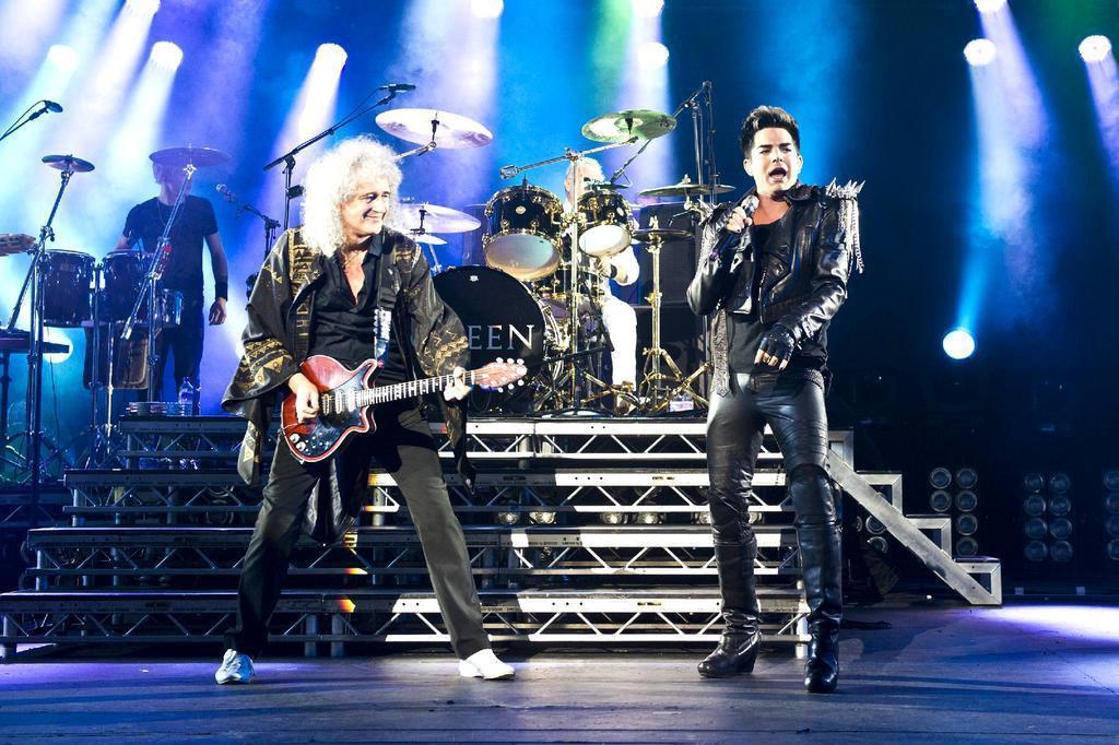 Ingressos para show de Queen + Adam Lambert em Porto Alegre vão custar entre R$ 260 e R$ 480 Carsten Windhorst,WENN.com/Divulgação