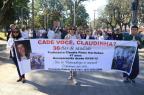 Caminhada lembra desaparecimento de professora universitária Gustavo Vara/Especial