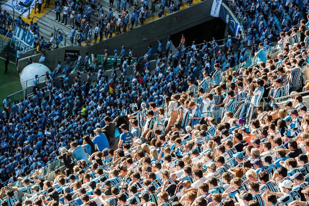 Quase esgotado: só restam lugares em camarote para Grêmio x Corinthians Omar Freitas/Agencia RBS