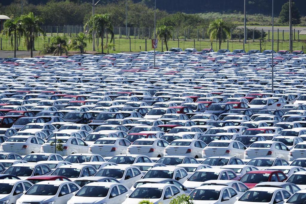 Produção de veículos tem queda de 17,7% no ano, diz Anfavea Ronaldo Bernardi/Agencia RBS