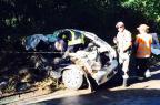 Homem morre em acidente na ERS-446, em Carlos Barbosa Altamir Oliveira/Rádio Estação FM/Divulgação/