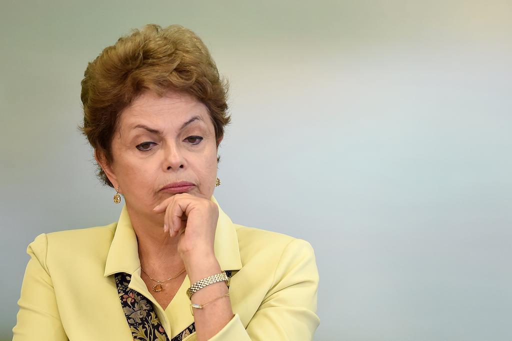 """""""Eu errei ao promover a desoneração"""", admite Dilma em Genebra EVARISTO SA/AFP"""