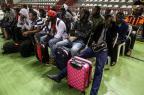 Ônibus com haitianos e senegaleses deve chegar nesta madrugada em Porto Alegre (Betina Humeres/Agencia RBS)