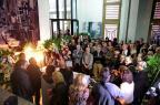 Sergio Napp é velado na Casa de Cultura Mario Quintana ao som de suas canções (Ricardo Duarte/Agencia RBS)