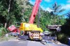 Após remoção de caminhão, trânsito está liberado na ERS-122, em Farroupilha BM/ Divulgação/