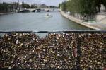 """Prefeitura de Paris retira """"cadeados do amor"""" da Pont des Arts"""
