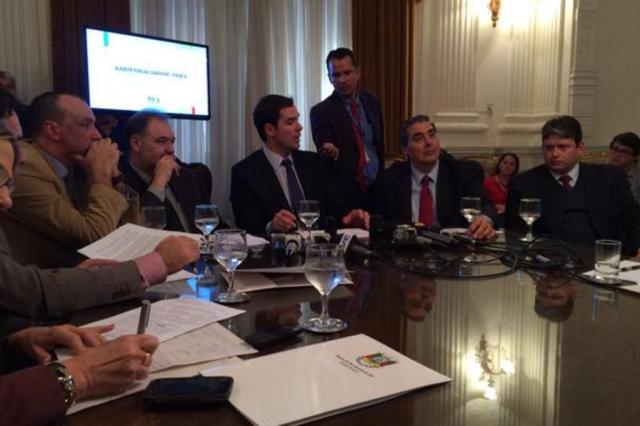 Governo Sartori apresenta pacote de ajuste fiscal com 14 propostas Rosane de Oliveira/Agência RBS