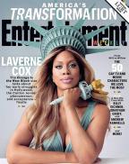 """Destaque em """"Orange"""", Laverne Cox ganha estátua de cera e é capa de revista Reprodução/Reprodução"""