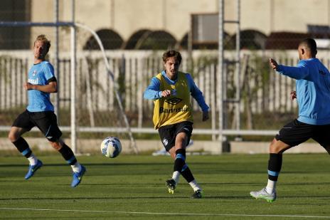 Maxi Rodriguez entra no BID e pode voltar ao Grêmio contra o Santos (Mateus Bruxel/Agência RBS)