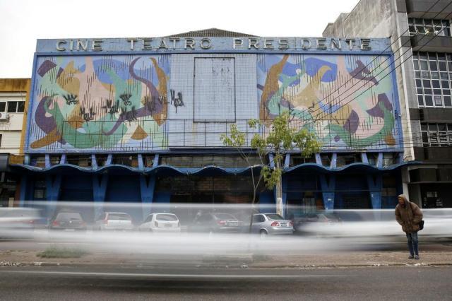 Prestes a ser demolido, Cine Teatro Presidente guarda parte da história de Porto Alegre Mateus Bruxel/Agencia RBS