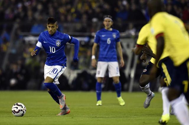"""Suspenso por dois jogos, Neymar detona arbitragem: """"A culpa sempre é minha"""" Pablo Porciuncula/AFP"""
