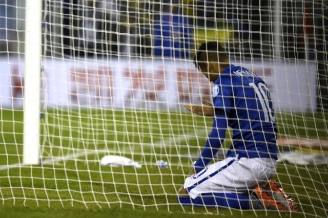 Neymar pega quatro jogos de suspensão e está fora da Copa América PABLO PORCIUNCULA/AFP