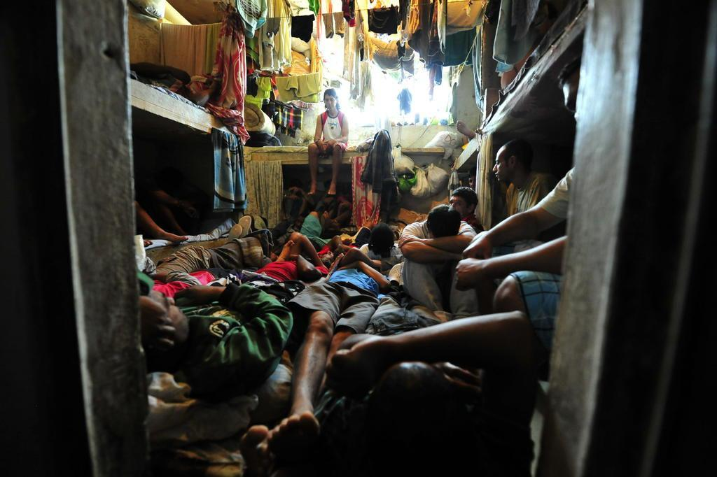 """Com falta de agentes e """"condições desumanas"""", prisões do país têm superpopulação de 67%, diz ONG Jefferson Botega/Agencia RBS"""