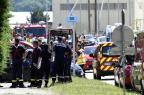Quatro pessoas foram detidas após atentado na França PHILIPPE DESMAZES/AFP