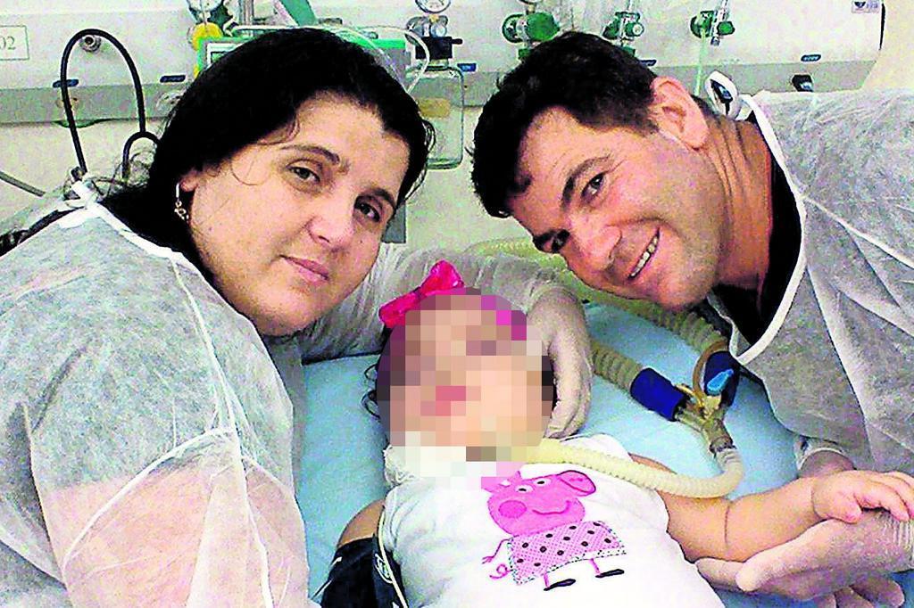 Mãe luta na Justiça para ver a filha em hospital de Porto Alegre Reprodução/Arquivo pessoal