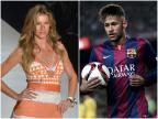Gisele Bündchen e Neymar estão entre famosos mais bem pagos Montagem sobre fotos/AFP