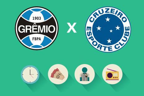 Grêmio x Cruzeiro: tudo o que você precisa saber para acompanhar a partida (Arte ZH/Agência RBS)