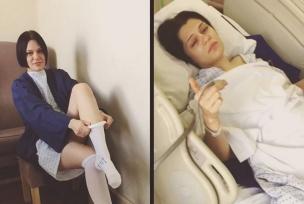 Cantora Jessie J está internada em hospital e passa por cirurgias Instagram/Reprodução