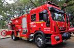 Santa Maria recebe caminhão de combate ao fogo no Dia do Bombeiro Germano Rorato/Agencia RBS