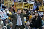 Ex-senador democrata Jim Webb entra na briga pela Casa Branca Ver Descrição/Ver Descrição