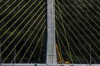 Equipamentos para testes de carga são instalados na ponte de Laguna Betina Humeres/Agência RBS