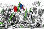 1º Encontro França/Brasil apresenta debates e atrações na Capital Plantu/Divulgação