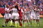 EUA vencem o Japão e são tricampeãs mundiais no feminino Dennis Grombkowski/GETTY IMAGES NORTH AMERICA